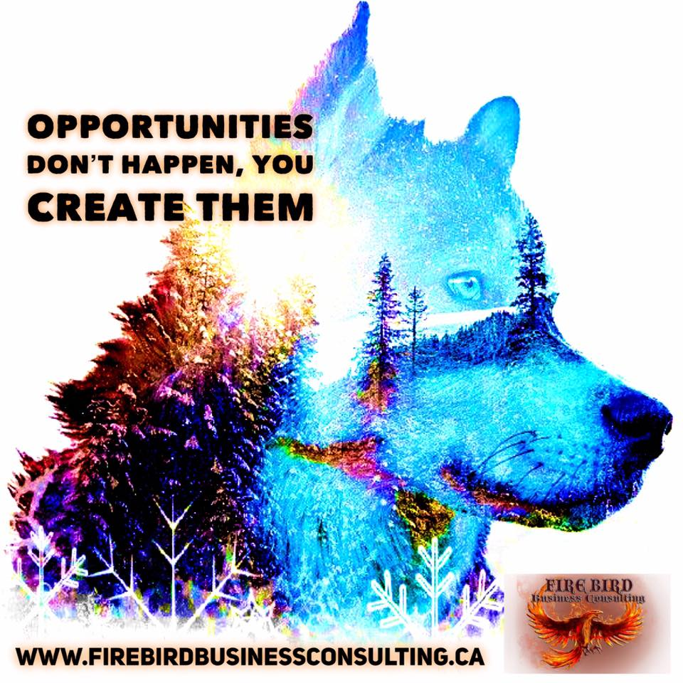 Opportunities don't happen, you create them – Business Consultant Saskatoon