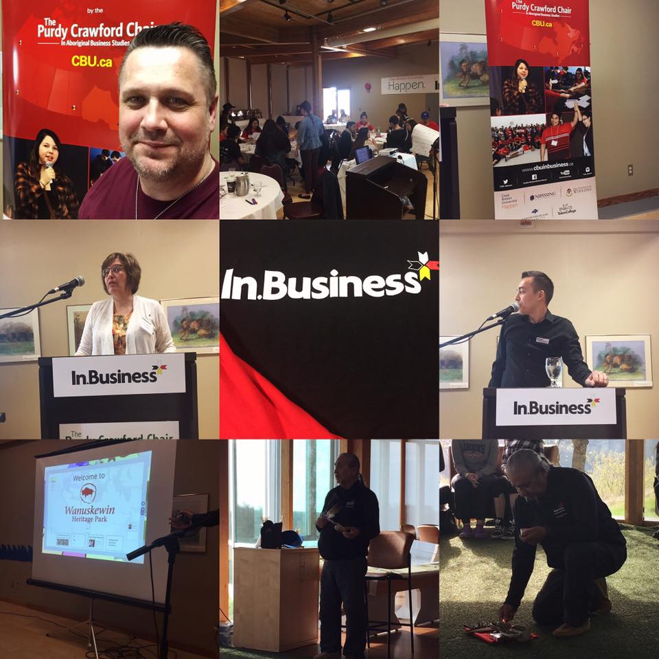 In.Business Canadian Aboriginal Youth Business Program – Roger Grona – Firebird Business Consulting Ltd.