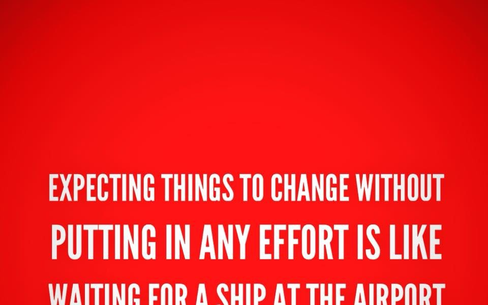 Expecting things to change without putting in any effort is like waiting for a ship at the airport – Firebird Business Consulting Ltd. – Saskatoon