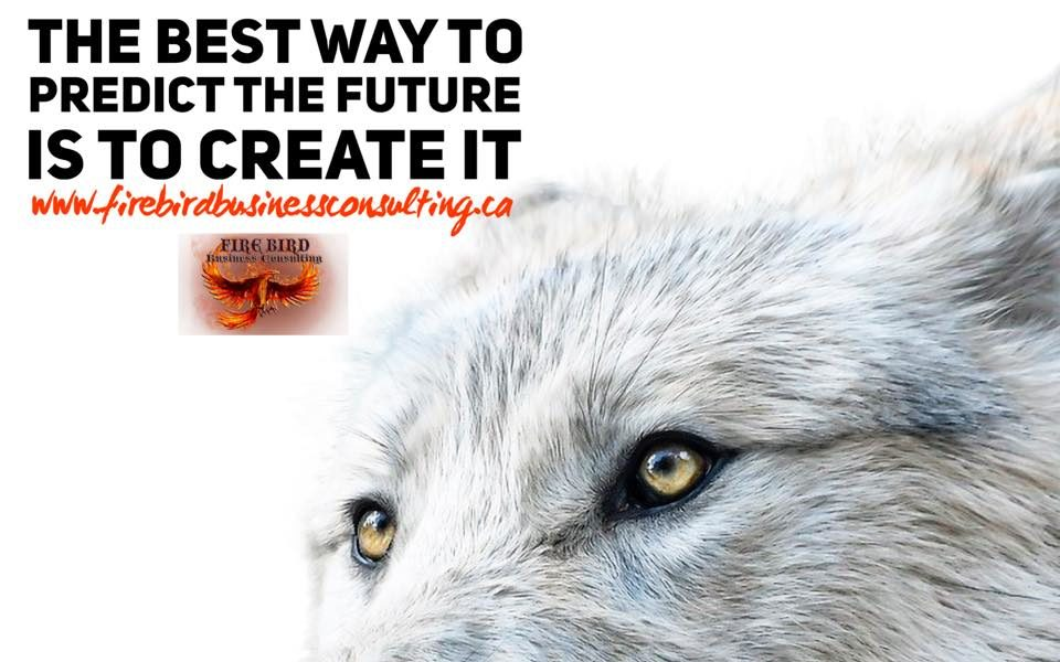 The best way to predict the future is to create it – Firebird Business Consulting Ltd. – Saskatoon