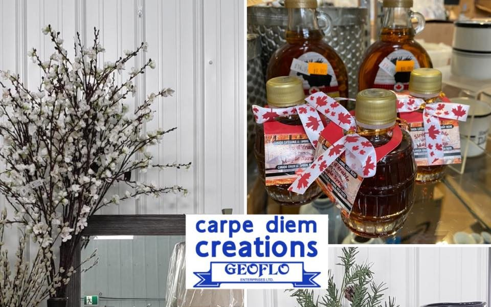 Liquidation Surplus Store – serving Saskatoon, Martensville, Osler area. Carpe Diem Creations Warman