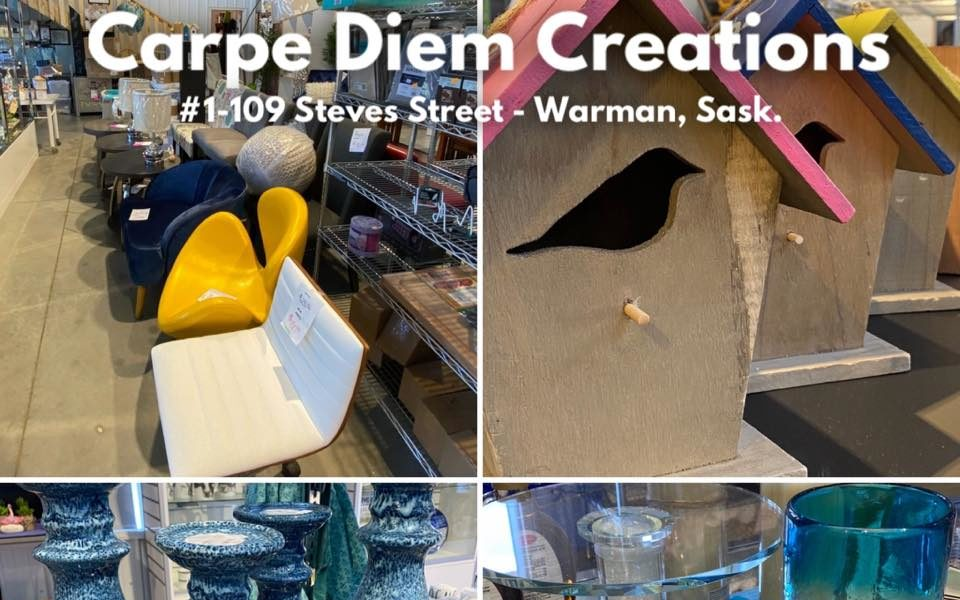 Carpe Diem is a liquidation company (Liquidation Store – Surplus Store) – Warman – serving Saskatoon, Osler, Martensville areas